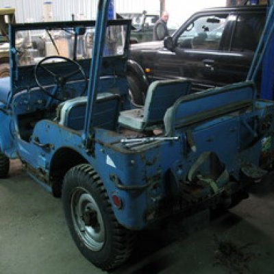 RENOVATION 4x4 JEEP AUBE6